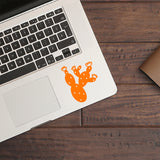 Cactus | Trackpad decal | Macbook Decal | Adnil Creations