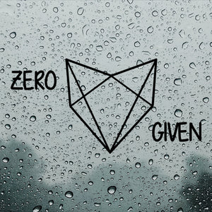 Zero fox given | Car Bumper Sticker | Decal