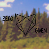 Zero fox given - Bumper Sticker - Adnil Creations