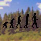 Evolution, Charles Darwin | Bumper Sticker | Bumper Sticker | Adnil Creations