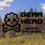 Gearhead Bumper Stickers - Adnil Creations