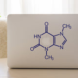 Chocolate Molecule | Laptop Decal | Macbook Decal | Adnil Creations