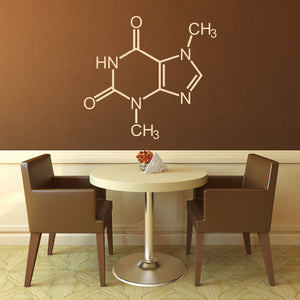 Chocolate Molecule | Wall Decal | Wall Art | Adnil Creations