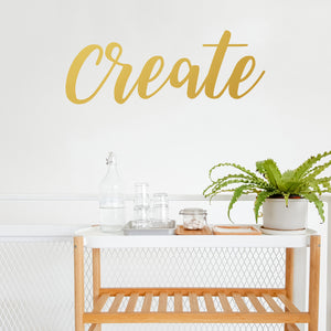 Create | Wall Quote | Wall Quote | Adnil Creations