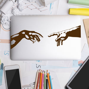 The Creation of Adam | Laptop Decal | Macbook Decal | Adnil Creations
