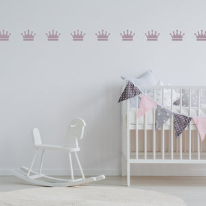 Set of 50 Crown Wall Stickers | 4 sizes available to choose from - Adnil Creations