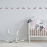 Set of 50 Crown Wall Stickers | 2 sizes available to choose from