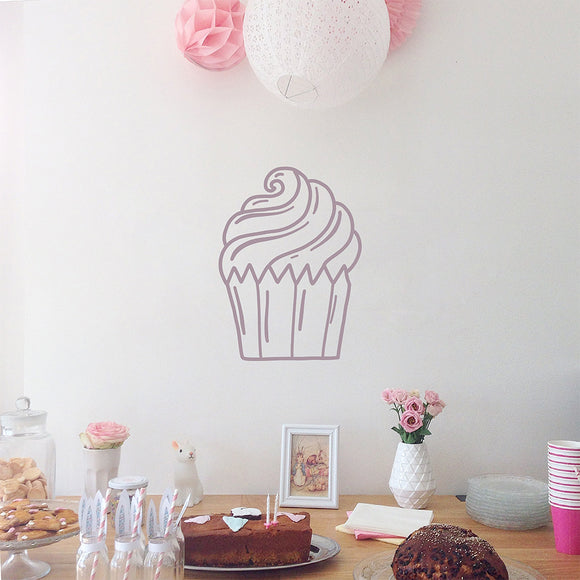 Cupcake | Wall Decal | Wall Art | Adnil Creations