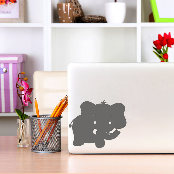 Cute elephant | Laptop Decal | Macbook Decal | Adnil Creations