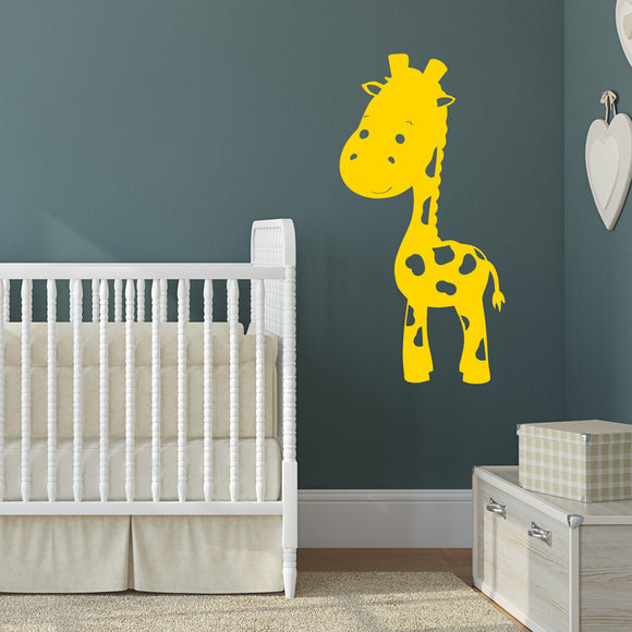 Cute jungle giraffe | Wall Decal | Wall Art | Adnil Creations