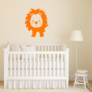 Cute jungle lion | Wall Decal | Wall Art | Adnil Creations