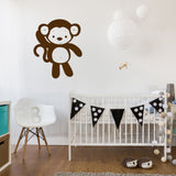 Cute jungle monkey | Wall Decal | Wall Art | Adnil Creations