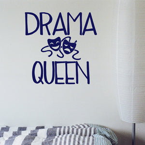 Drama queen | Wall Quote | Wall Quote | Adnil Creations