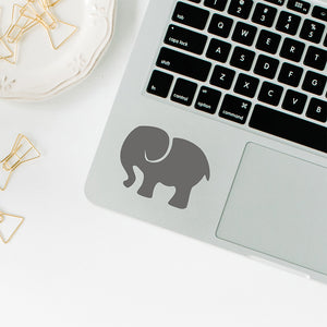 Elephants | Trackpad decal | Macbook Decal | Adnil Creations