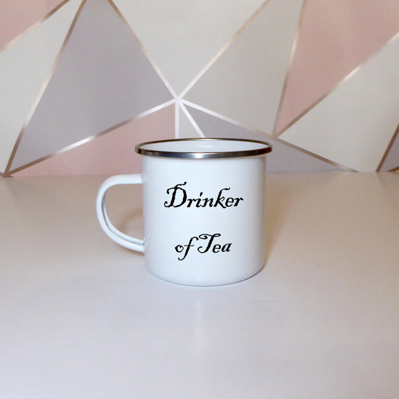 Drinker of tea | Enamel Mug