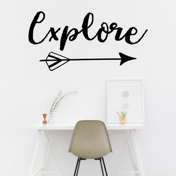 Explore | Wall Quote | Wall Quote | Adnil Creations