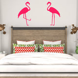 Pair of flamingos | Wall Decal | Wall Art | Adnil Creations