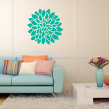 Dahlia flower | Wall Decal | Wall Art | Adnil Creations