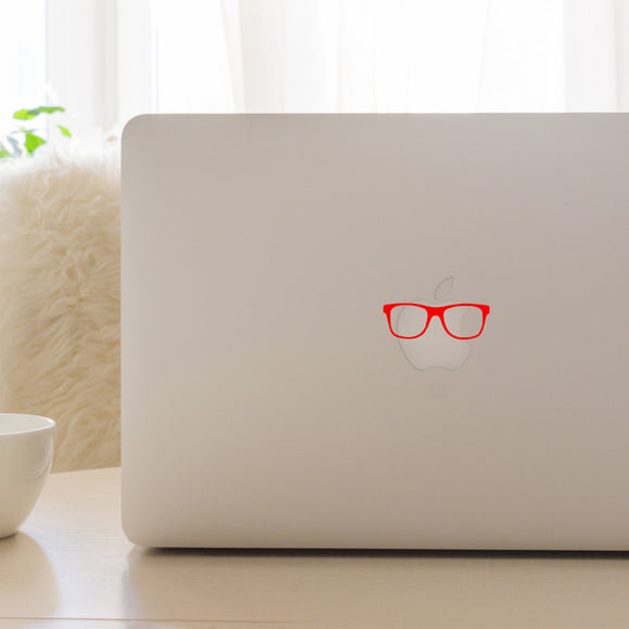 Hipster Glasses | Laptop Decal | Macbook Decal | Adnil Creations