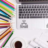 Go Outside | Trackpad decal | Macbook Decal | Adnil Creations