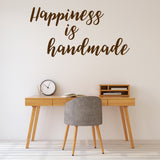 Happiness is handmade | Wall Quote | Wall Quote | Adnil Creations