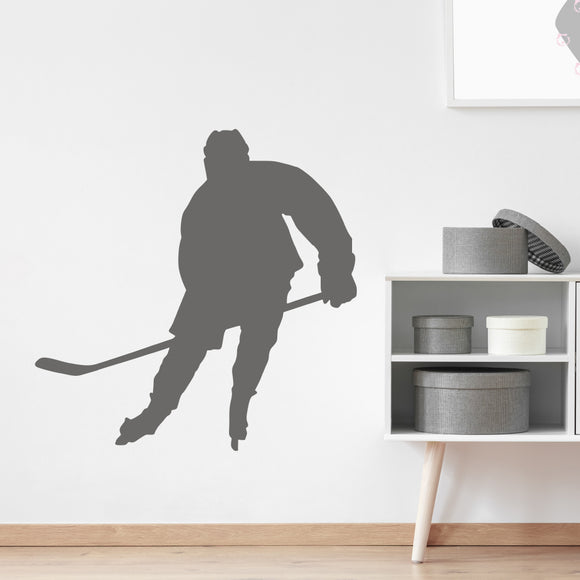 Ice hockey player | Wall Decal