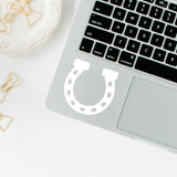 Horseshoe | Trackpad decal | Macbook Decal | Adnil Creations
