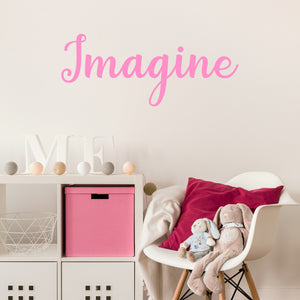 Imagine | Wall Quote | Wall Quote | Adnil Creations