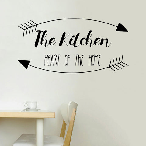 Kitchen is the heart of the home | Wall Decal