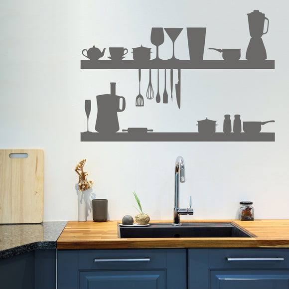 Kitchen objects | Wall Decal