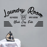 Laundry room | Wall Quote | Wall Quote | Adnil Creations