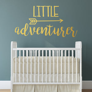 Little adventurer | Wall Quote | Wall Quote | Adnil Creations