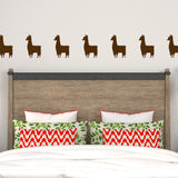 Set of 50 Llama Wall Stickers | 3 sizes available to choose from | Repeating Pattern | Adnil Creations