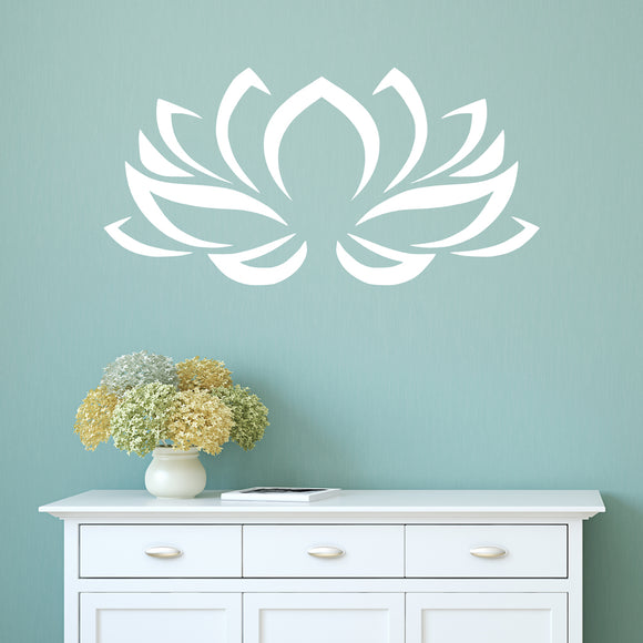 Lotus flower | Wall Decal | Wall Art | Adnil Creations