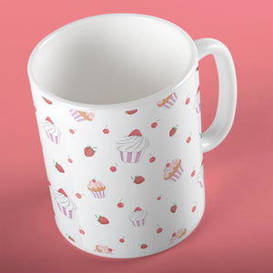 Strawberry Cupcakes | Mug | Mug | Adnil Creations