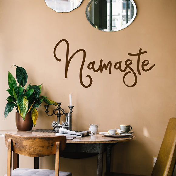 Namaste | Wall Quote | Wall Quote | Adnil Creations