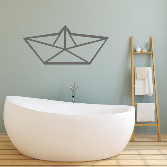 Origami boat | Wall Decal | Wall Art | Adnil Creations