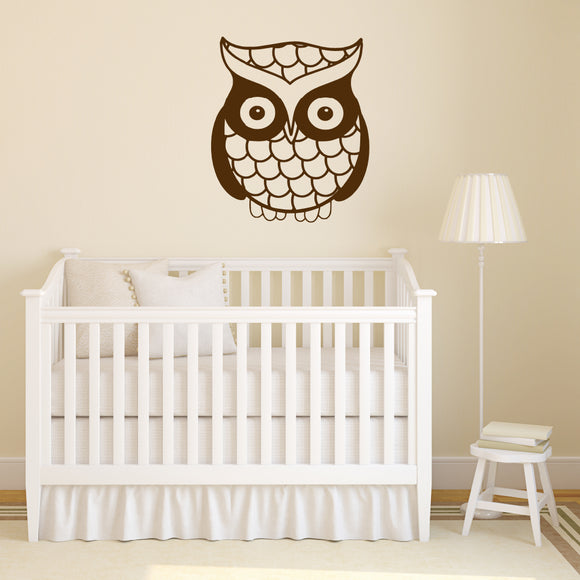 Cute owl | Wall Decal | Wall Art | Adnil Creations