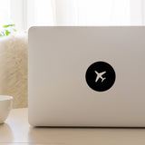 Aeroplane | Laptop Decal | Macbook Decal | Adnil Creations