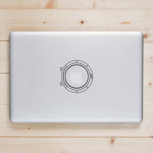 Porthole | Laptop Decal