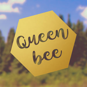 Queen Bee | Bumper Sticker | Bumper Sticker | Adnil Creations