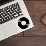 Vinyl Record | Trackpad decal | Macbook Decal | Adnil Creations