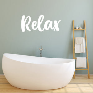 Relax | Wall Quote | Wall Quote | Adnil Creations