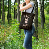 Crazy cat lady | 100% Cotton Tote Bag | Tote Bag | Adnil Creations