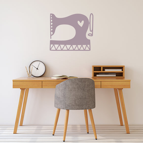 Sewing machine | Wall Decal | Wall Art | Adnil Creations