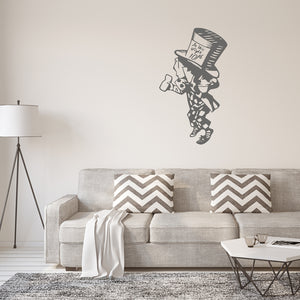 The mad hatter | Wall Decal | Wall Art | Adnil Creations