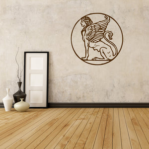 Egyptian sphinx | Wall Decal | Wall Art | Adnil Creations