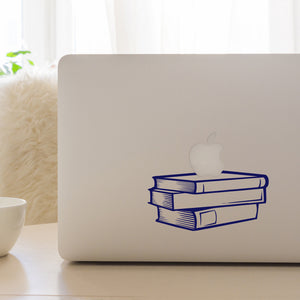 Stack of books - Teacher's Pet | Laptop Decal | Macbook Decal | Adnil Creations