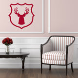 Stag and shield | Wall Decal | Wall Art | Adnil Creations