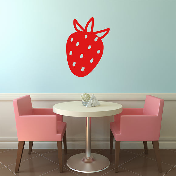 Strawberry | Wall Decal | Wall Art | Adnil Creations